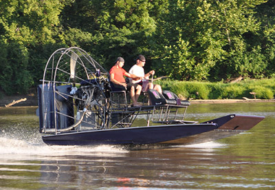 DynaMarine Raptor Airboat Hull